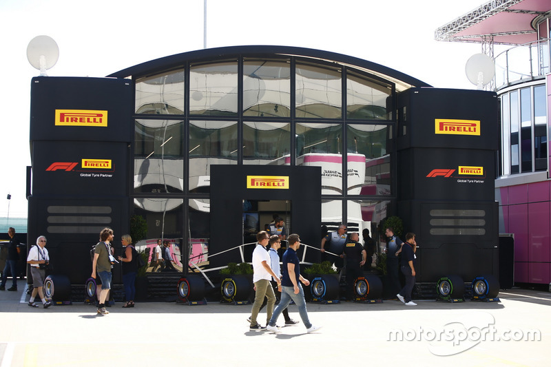 The Pirelli motorhome