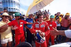 Alain Prost, McLaren MP4/3, vainqueur