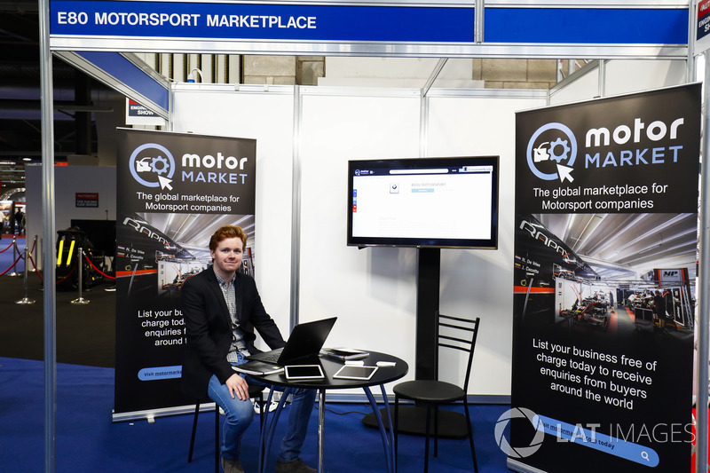 The Motorsport Marketplace stand