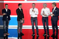 Francesco Guidotti, Davide Camicioli, Paolo Ciabatti, Gigi Dall'Igna et Sandro Donato Grosso