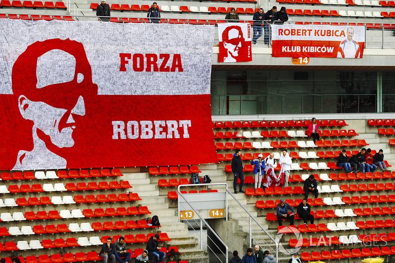 Fans de Robert Kubica, Williams