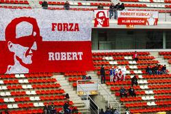 Fans van Robert Kubica, Williams