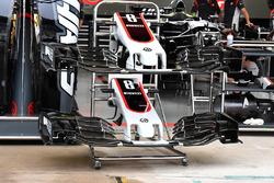 Haas VF-17: Nasen und Frontflügel