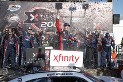 William Byron, JR Motorsports Chevrolet in victory lane