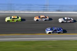Ryan Blaney, Team Penske Ford Fusion, Paul Menard, Wood Brothers Racing Ford Fusion, Alex Bowman, Hendrick Motorsports Chevrolet Camaro, Brad Keselowski, Team Penske Ford Fusion