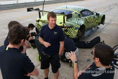 Aston Martin Racing Sebring testing
