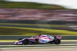 Sergio Perez, Force India VJM11/ Glenn Dunbar