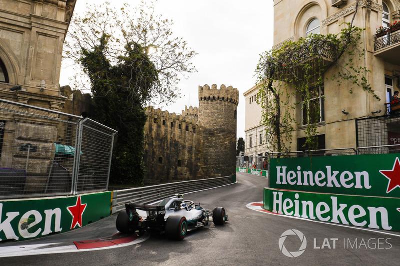 7. Valtteri Bottas, Mercedes AMG F1 W09