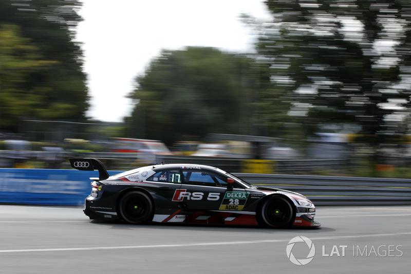18. Loic Duval, Audi Sport Team Phoenix, Audi RS 5 DTM