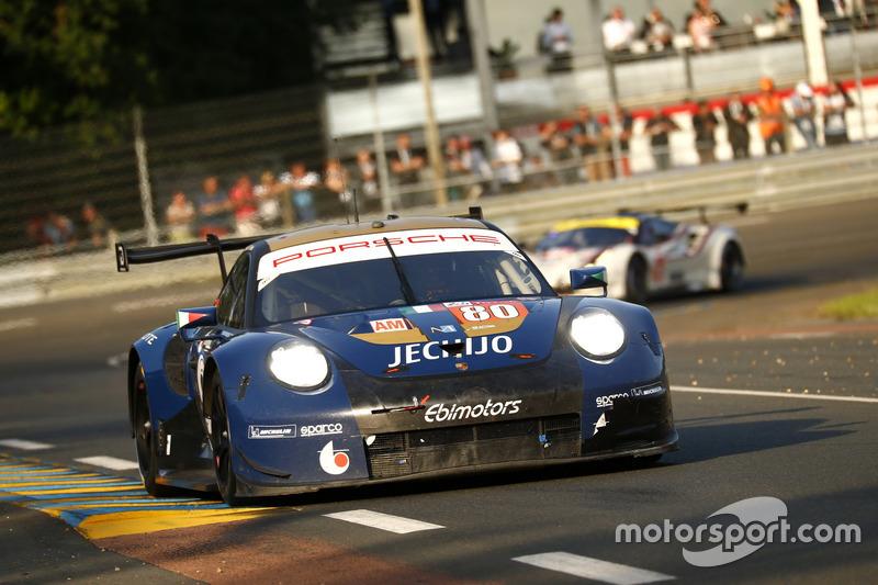 #80 Ebimotors Porsche 911 RSR: Fabio Babini, Christina Nielsen, Erik MarisPorsche / Juergen Tap