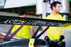 Detalle trasero del Aston Martin Vantage