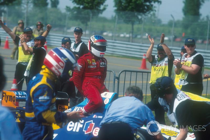 1995 Kanada: Michael Schumacher, Jean Alesi