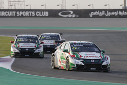 MAC 3, Esteban Guerrieri, Honda Racing Team JAS, Honda Civic WTCC leads