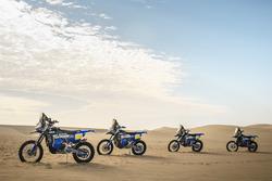Мотоциклы Yamaha WR450F Rally, Yamaha Official Rally Team
