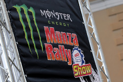 Monza Rally Show signage