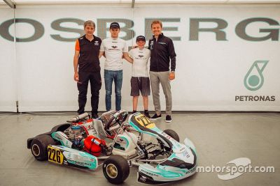 Rosberg Young Driver Academy launch