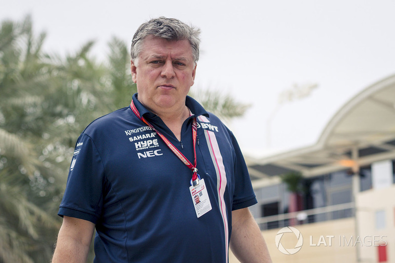 Otmar Szafnauer, Force India Formula One Team Chief Operating Officer