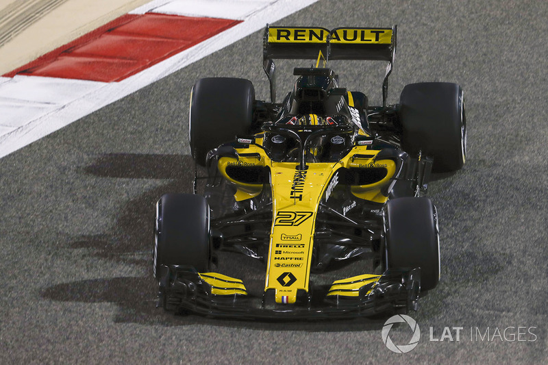 7. Nico Hülkenberg, Renault Sport F1 Team R.S.18