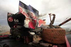 Unfallauto von Mark Webber, Red Bull Racing RB6