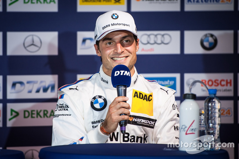 Conferenza stampa: Bruno Spengler, BMW Team MTEK, BMW M4 DTM
