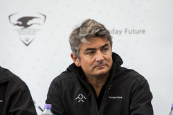 Conferenza stampa Dragon Racing e Faraday Future: Marco Mattiacci, Global Chief Brand e Commercial O
