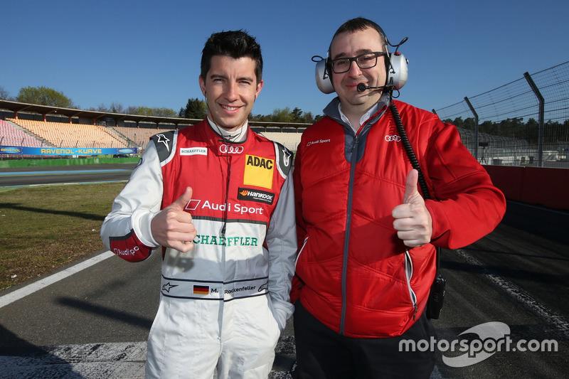 Mike Rockenfeller, Audi Sport Team Phoenix und Arnau Niubo
