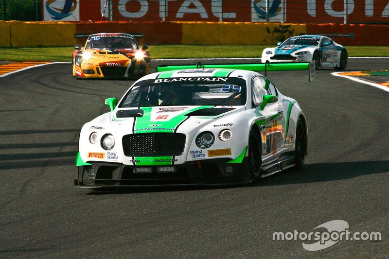#24 Team Parker Racing Bentley Continental GT3: Ian Loggie, Tom Onslow-Cole, Callum Macleod, Andy Me