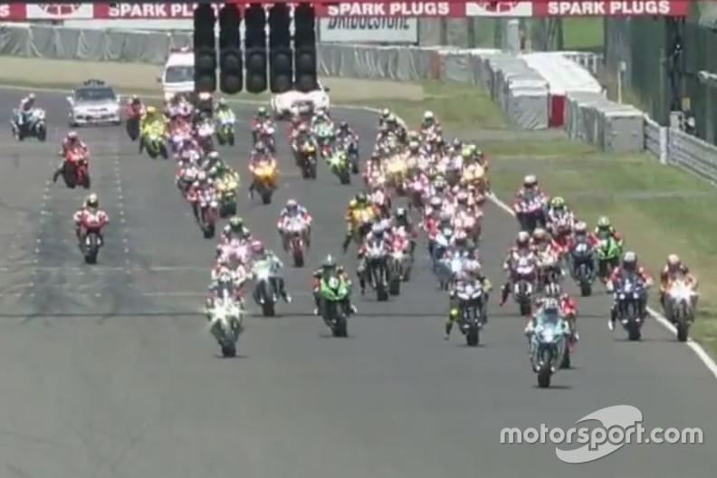 Start zum 8h-Rennen in Suzuka (Screenshot)