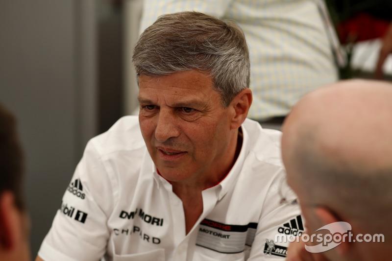 Директор LMP1 Porsche Team Фрітц Енцінгер