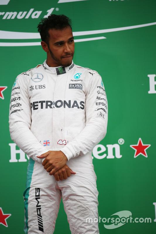 Перше місце - Льюїс Хемілтон, Mercedes Petronas AMG F1
