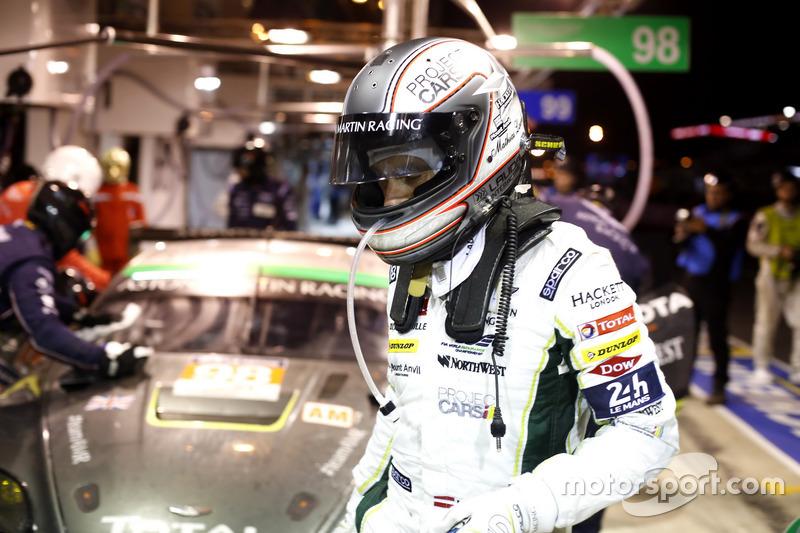 #98 Aston Martin Racing Aston Martin Vantage: Mathias Lauda