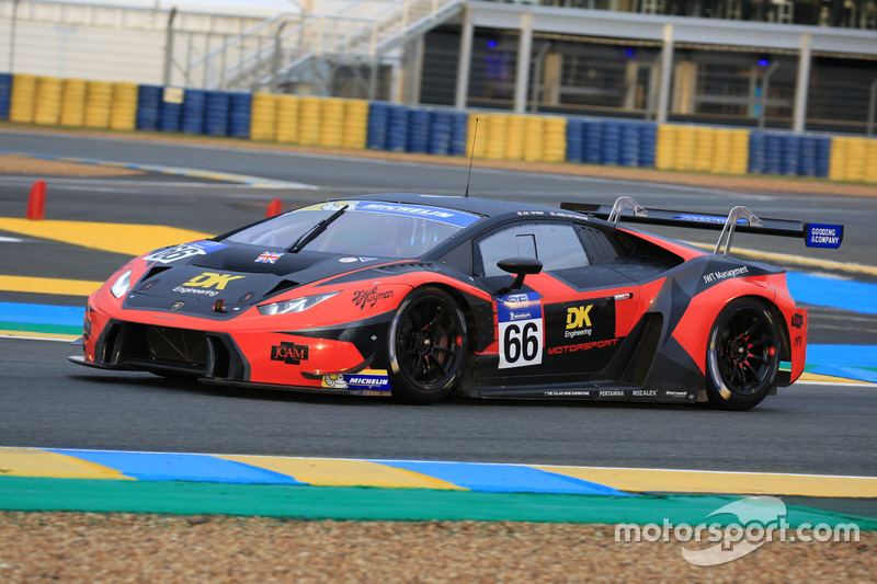 #66 Barwell Motorsport Lamborghini Huracan GT3: Joe Twyman, James Cottingham