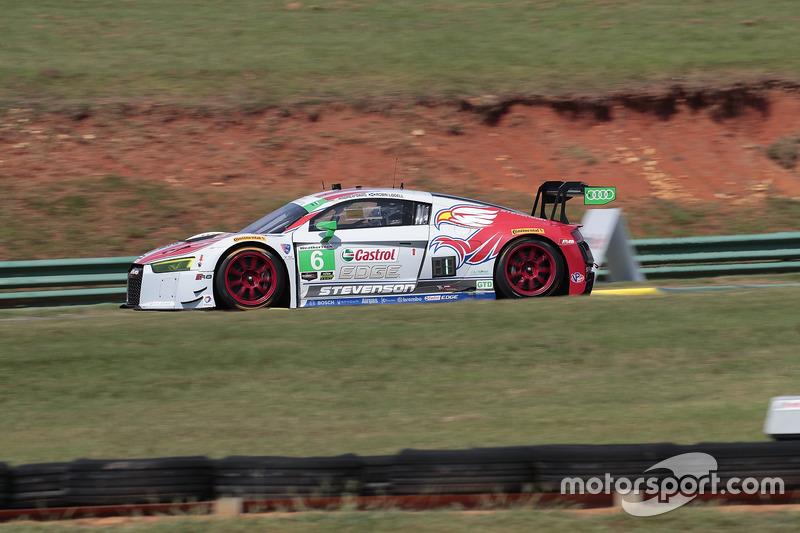 #6 Stevenson Motorsports Audi R8 LMS GT3: Andrew Davis, Robin Liddell