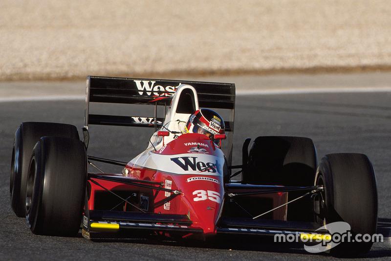 Yamaha: 1989 Zakspeed