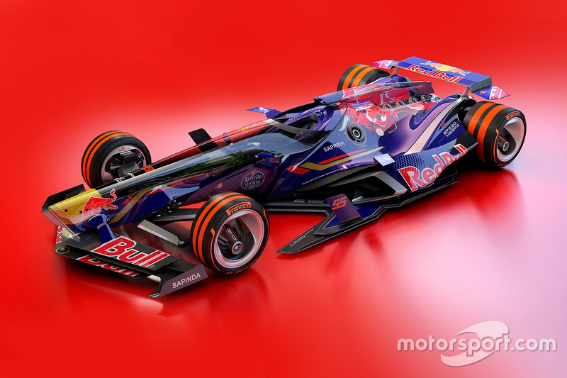 Концепт Toro Rosso 2030