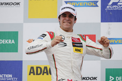 Podium: Race winner Lance Stroll (CAN) Prema Powerteam Dallara F312 – Mercedes-Benz