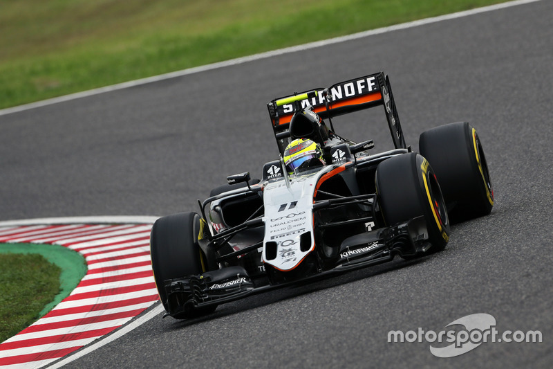 5: Sergio Perez, Sahara Force India F1 VJM09