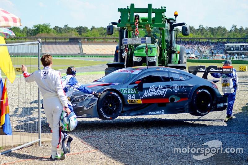 Максимилиан Гётц, Mercedes C 63 DTM, HWA