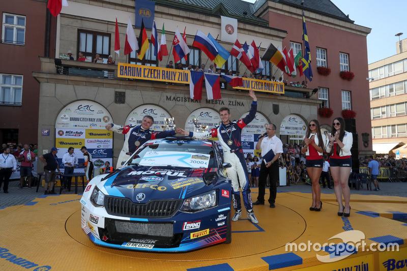 Jan Černý e Petr Černohorský, Mogul Czech National Team, ŠKODA Fabia R5