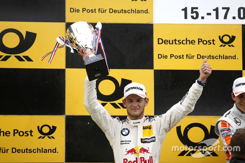 Podium: second place Marco Wittmann, BMW Team RMG, BMW M4 DTM