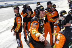 Martin Truex Jr., Furniture Row Racing, Toyota Camry Bass Pro Shops/5-hour ENERGY crew celebrates