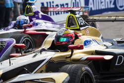 Jean-Eric Vergne, Techeetah, andSam Bird, DS Virgin Racing