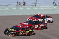 Erik Jones, Furniture Row Racing Toyota, Dale Earnhardt Jr., Hendrick Motorsports Chevrolet, Ryan Blaney, Wood Brothers Racing Ford