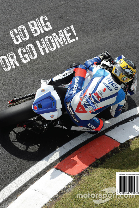 Guy Martin Road Racer Book Back At