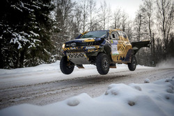 Арон Домзала и Мацей Мартон, Overdrive Racing, Toyota Hilux (№3)