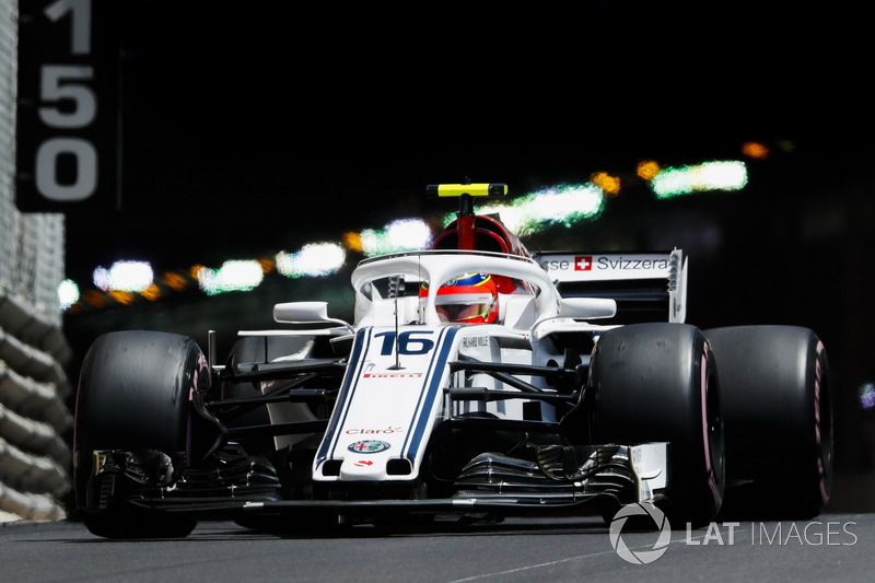 14: Charles Leclerc, Sauber C37, 1'12.714