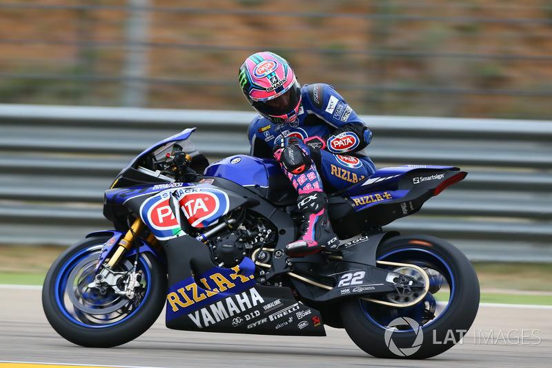 Alex Lowes, quatrième, Pata Yamaha