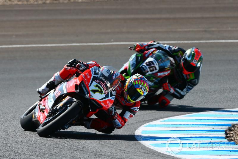 Chaz Davies, Ducati Team, Tom Sykes, Kawasaki Racing