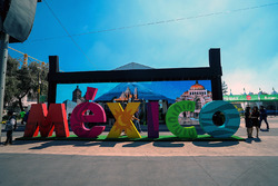 Letrero de México