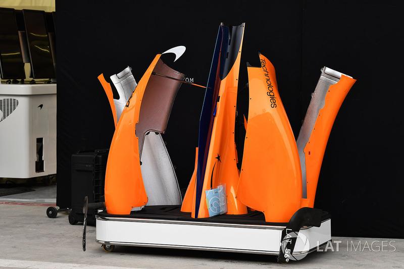 Аеродинамічні елементи McLaren MCL33